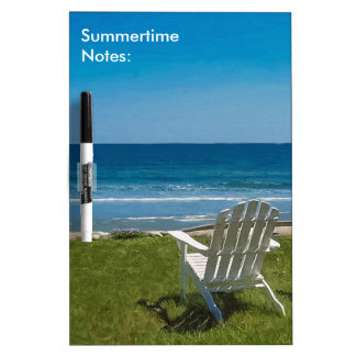 Summertime Notes Dry Erase Board
