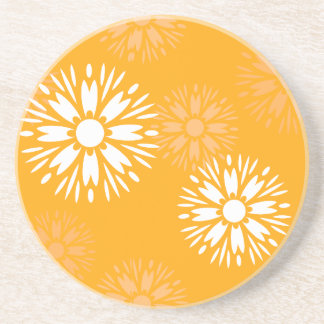 Summertime Orange Coaster