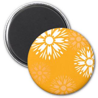 Summertime Orange Magnet Refrigerator Magnet