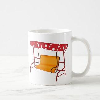 Summertime Patio Glider Seating Coffee Mug