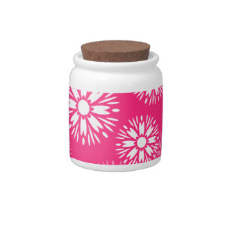 Summertime Pink  Candy Jar