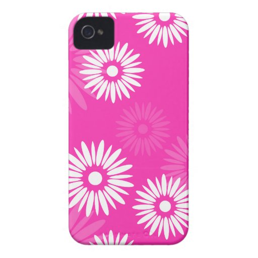 Summertime pink flowers 4/4S Case iPhone 4 Case-Mate Case