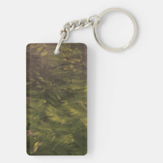 Summertime Places Rectangle Acrylic Keychain