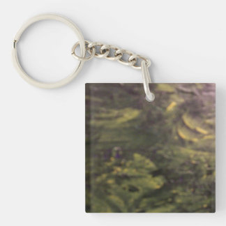 Summertime Places Acrylic Key Chain