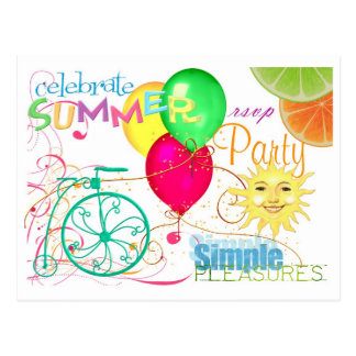 Summertime Postcard