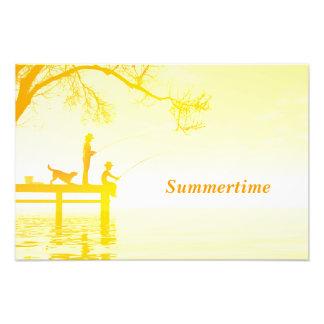 Summertime poster photograph