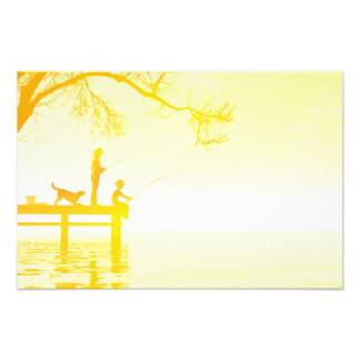 Summertime poster photographic print