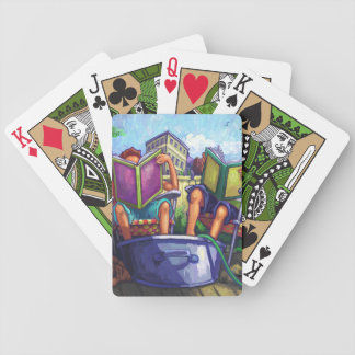 Summertime Reading Bicycle Playing Cards