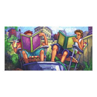Summertime Reading Card