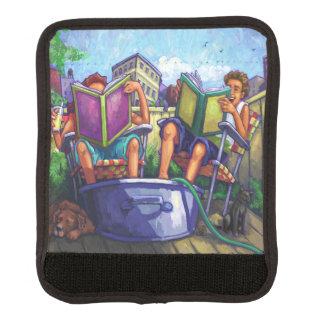 Summertime Reading Luggage Handle Wrap