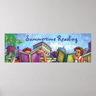 Summertime Reading Poster