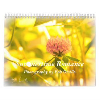 Summertime Romance Wall Calendar