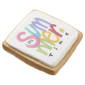 Summertime Shortbread Cookies - Pack of 4