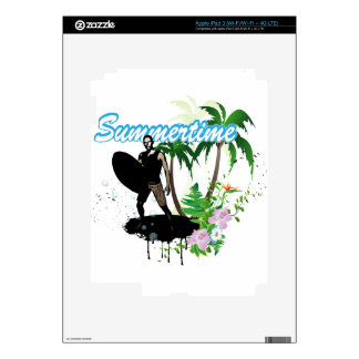 Summertime Decals For iPad 3