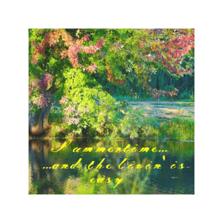 """""""Summertime"""" Square Canvas Wall Art"""