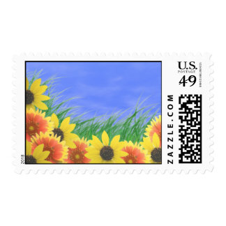 Summertime stamps