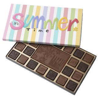 Summertime Stripes Chocolates 45 Piece Assortment