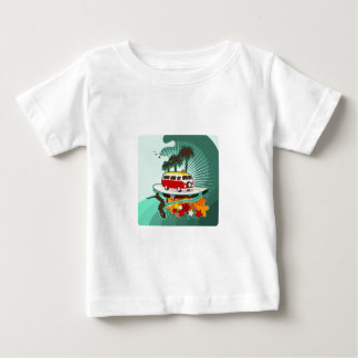 Summertime Surfing! Baby T-Shirt