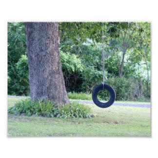 Summertime Swing 10 x 8 Photographic Print