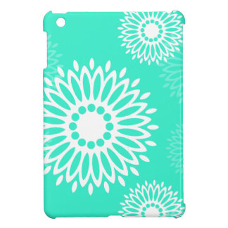 Summertime  turquoise flowers iPad Mini Case