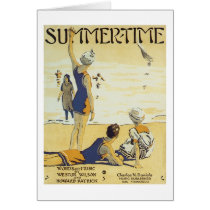 Summertime Vintage Songbook Cover