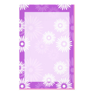 Summertime Violet Stationery