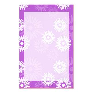 Summertime Violet Stationery