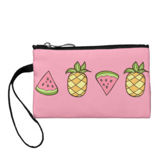 Summertime Watermelon Fruits Coin Wallet
