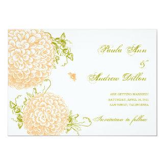 Summertime Wedding Invitation