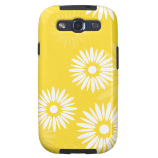 Summertime yellow flowers Samsung Galaxy S Case Samsung Galaxy S3 Cover