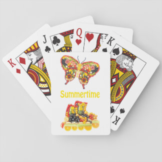 Summertime your Backgr. Playing Cards