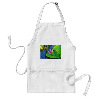 Summery ode ton the Water Lily Adult Apron