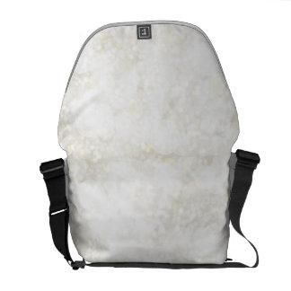 Summery White Fairy Dust Messenger Bags
