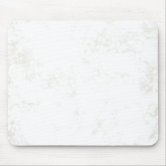 Summery White Fairy Dust Mouse Pad