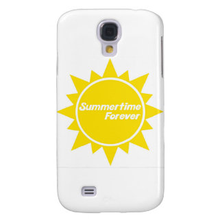 Summetime Forever iPhone hardcase Galaxy S4 Case