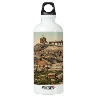 Summit and Temple of Mercury, Auvergne, France SIGG Traveler 0.6L Water Bottle