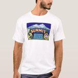 Summit Apples - Vintage Fruit Crate Label T-Shirt
