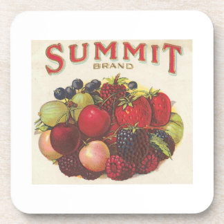 Summit Brand Fruits Drink Coaster