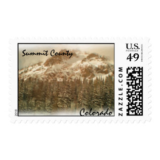 Summit County Colorado stamp