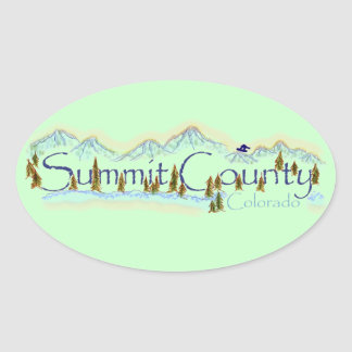 Summit County Colorado sticker