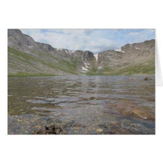 Summit Lake - Mt. Evans Card