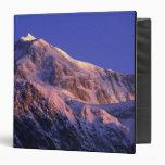 Summit of Denali Peak Mt. McKinley) at Vinyl Binders