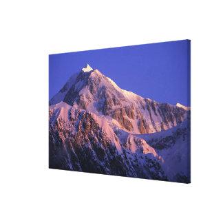 Summit of Denali Peak Mt. McKinley) at Canvas Print