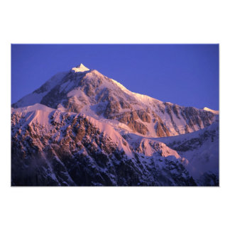 Summit of Denali Peak Mt. McKinley) at Photo Print