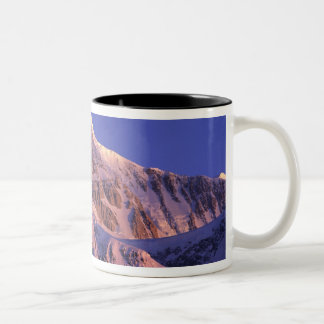 Summit of Denali Peak Mt. McKinley) at Two-Tone Coffee Mug