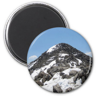 Summit of Mount Yale, Colorado 2 Inch Round Magnet