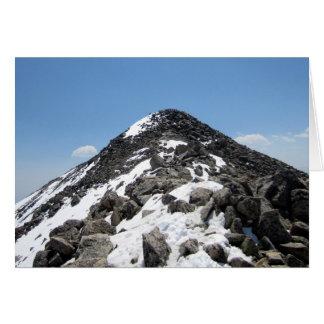 Summit of Mount Yale, Colorado Greeting Card
