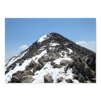Summit of Mount Yale, Colorado Personalized Invitations