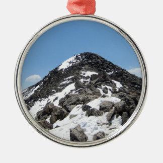 Summit of Mount Yale, Colorado Ornaments