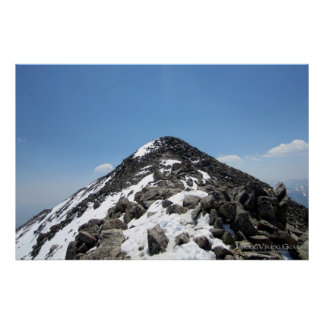 Summit of Mount Yale, Colorado Posters
